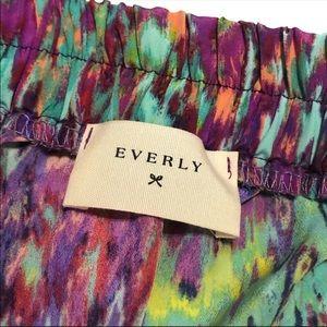 Modcloth Shorts - ModCloth Rainbow Pull On Shorts